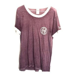 Dark Purple Victoria Secret Pink shirt